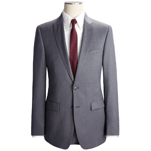 Fancy Solid Suit - Extreme Slim Fit, Wool by Calvin Klein in Vice