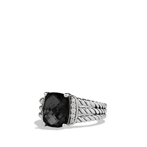 Petite Wheaton Ring by David Yurman in The Man from U.N.C.L.E.