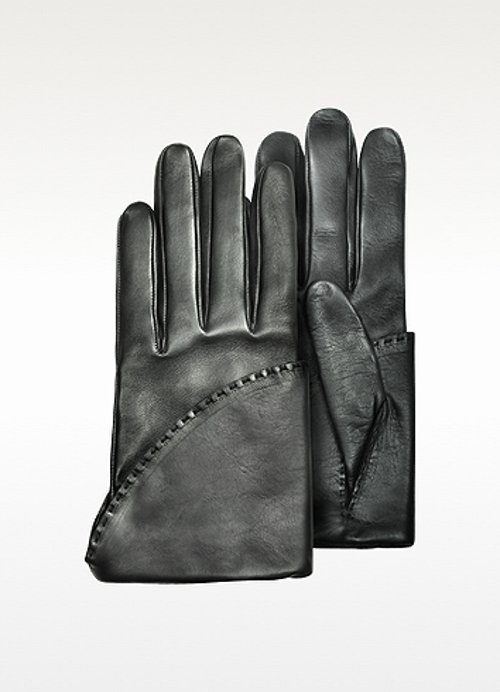 Women's Black Short Nappa Gloves by Pineider in Sherlock Holmes: A Game of Shadows