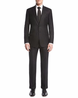 Soft Basic Two-Piece Suit by Giorgio Armani in Suits