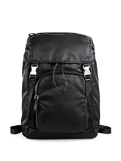 Nylon Backpack by Prada in Vampire Academy