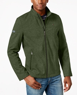 Softshell Classic Zip Jacket by Tommy Hilfiger in Bastards