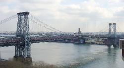 New York City, New York by Williamsburg Bridge in The Dark Knight Rises