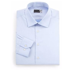 Regular-Fit Dress Shirt by Saks Fifth Avenue Collection in Rosewood