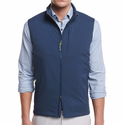 Bend Performance Stretch Vest by Peter Millar in American Assassin