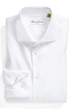 Regular Fit Dress Shirt by Robert Graham in Legend