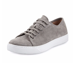 Austin Suede Low-Top Sneakers by Vince in Ballers