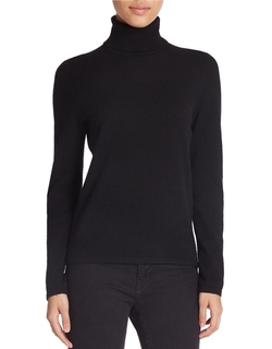 Petite Cashmere Turtleneck Sweater by Lord & Taylor in The Martian