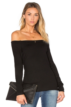 Cynthia Off Shoulder Top by L'Agence in Into the Forest