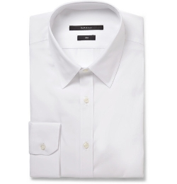 Slim-Fit Cotton-Poplin Shirt by Gucci in Ricki and the Flash