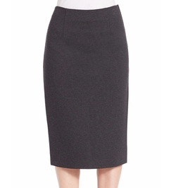 Knit Pencil Skirt by Lord & Taylor in Supergirl