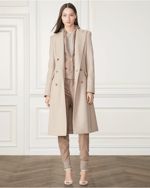 Fabian Wool-Cashmere Coat by Ralph Lauren in Star - Season 1 Preview