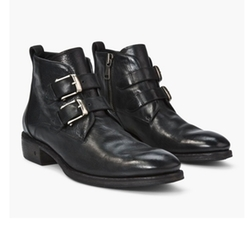 Keith Double Buckle Short Boots by John Varvatos in Shadowhunters