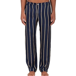 Marcel Silk Pajama Pants by Sleepy Jones in Empire