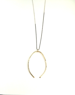 Wishbone Necklace by Jules Vance in The Bachelorette