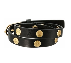 Double Wrap Logo Stud Bracelet by Tory Burch in The Fate of the Furious