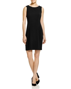 Kimber Pleated Sheath Dress by T Tahari in Supergirl
