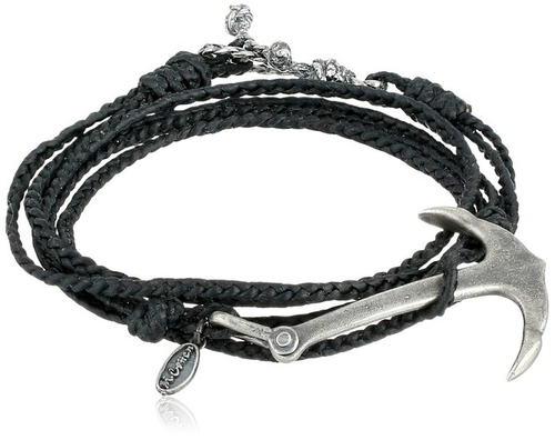 Wrap Braided Rope Bracelet by M.cohen Handmade Designs in Burnt