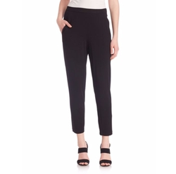 Slouchy Slim Ankle Pants by Eileen Fisher in Suits