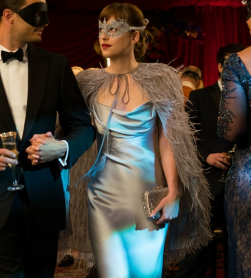Custom Made Gown by Monique Lhuillier in Fifty Shades Darker
