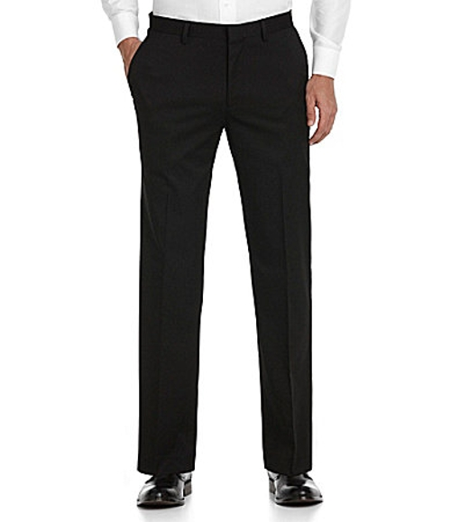 Flat-Front Wardrobe Essential Zac Pants by Murano in Absolutely Anything
