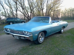 1968 Impala Convertible by Chevrolet in Scarface