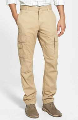 Alpha Khaki Slim Fit Cargo Pants by Dockers in Wish I Was Here