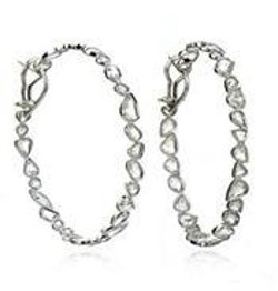 Pathway Hoop Earrings by Kimberly McDonald in Sex and the City 2
