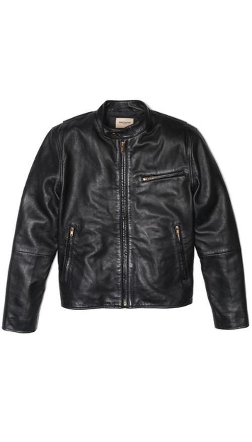 Leather Biker Jacket by Levi's Made & Crafted in And So It Goes
