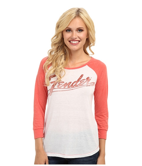 Fender Classic Logo Tee Shirt by Lucky Brand in Bridesmaids