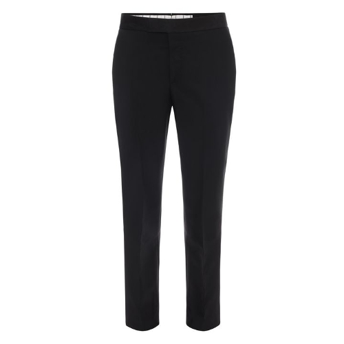 Wool Mohair Tuxedo Trousers by Alexander Mcqueen in The Transporter: Refueled