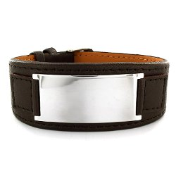 Men's Plate Bracelet by Crucible in The Boy Next Door