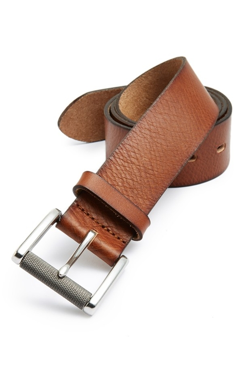 Burnished Edge Leather Belt by 1901 in Modern Family - Season 7 Episode 11
