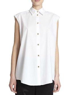 Clio Tech Poplin Shirt by Acne Studios in Begin Again