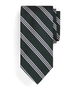 Mini BB#1 Repp Tie by Brooks Brothers in Legend