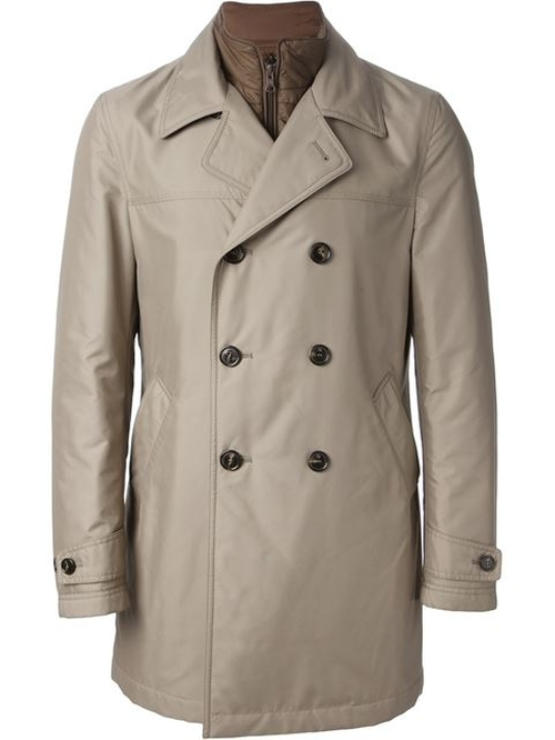 Double Breasted Trench Coat by Fay in The Man from U.N.C.L.E.