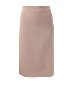 Suede Side Zip Pencil Skirt by Brunello Cucinelli in Suits