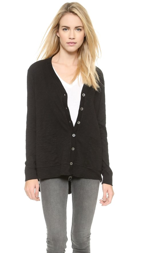Slouchy Slub Cardigan by Wilt in If I Stay