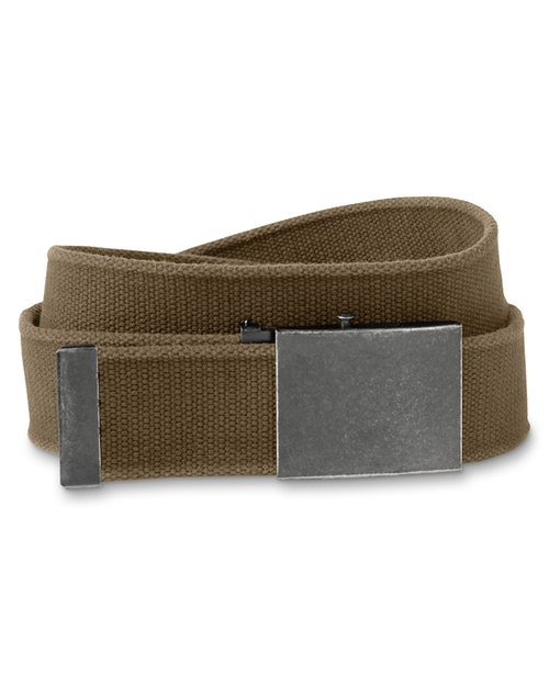 Men's Web Plaque Belt by Eddie Bauer in Scout's Guide to the Zombie Apocalypse