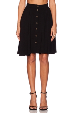 Jackson Button Skirt by Line & Dot in Fuller House