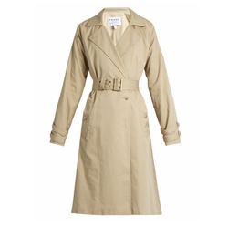 Classic Cotton Trench Coat by Frame in Empire