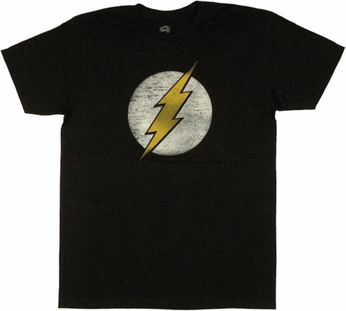 Flash Logo Shirt by Vintage in The Big Bang Theory - Season 9 Episode 4