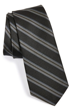 Stripe Silk Tie by W.R.K in My All American
