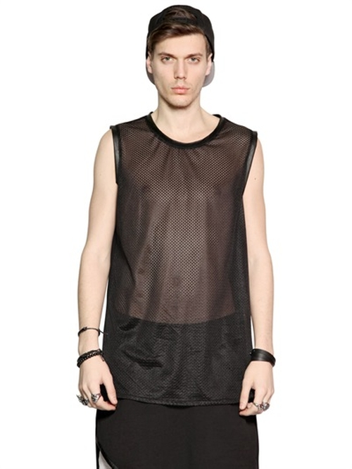 Mesh & Jersey Tank Top by Numero 00 in American Horror Story