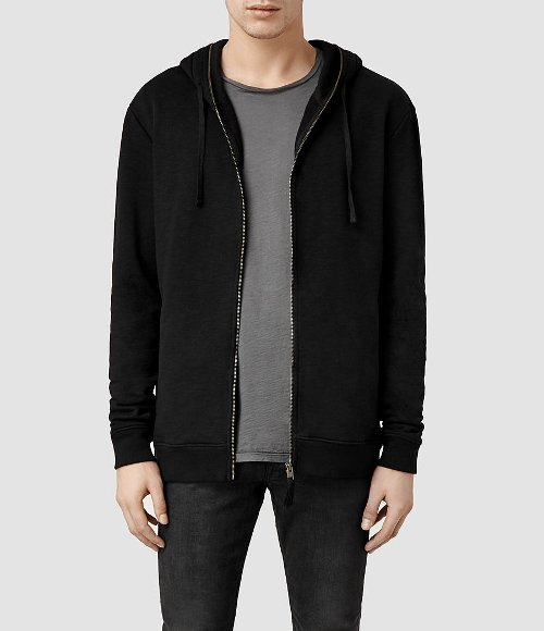 Javert Hoodie Jacket by All Saints in Run All Night