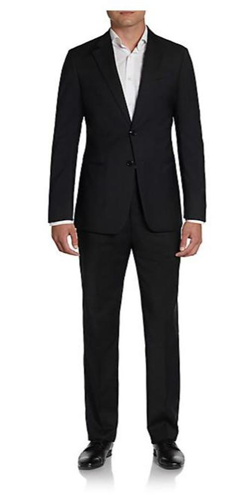 Regular-Fit Wool Notched-Lapel Suit by Armani Collezioni in Hot Tub Time Machine 2