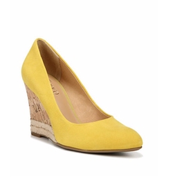 Calix Suede Wedge Pumps by Franco Sarto in Fuller House