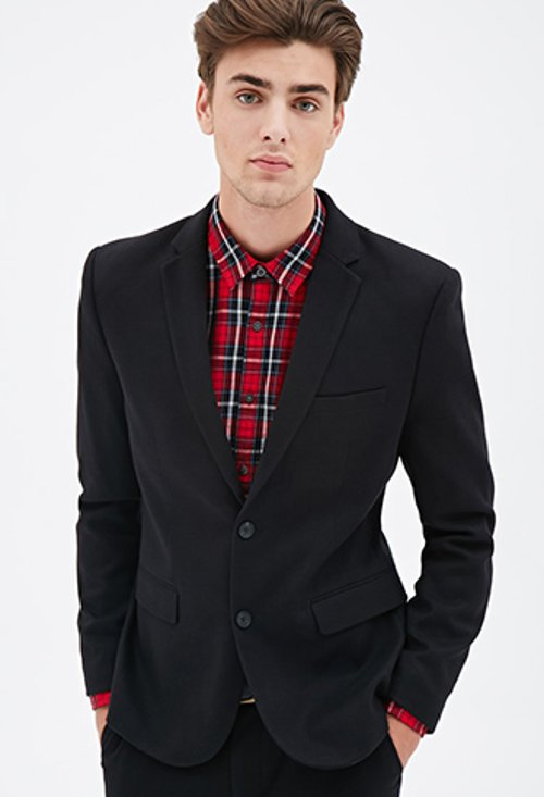 Woven Sport Coat by Forever21 in The DUFF