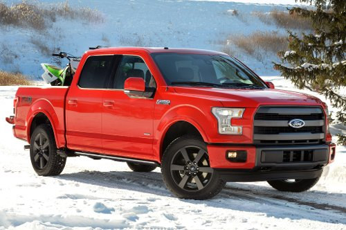 F-150 Pick-Up Truck by Ford in If I Stay