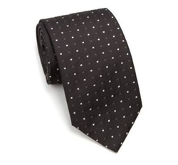 Square Circle-Print Silk Tie by Vitaliano in Fifty Shades Darker